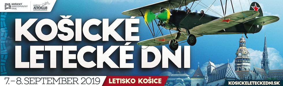 Košické letecké dni banner