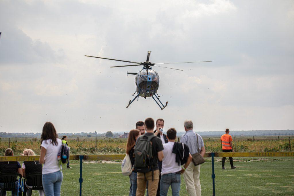 vyhliadková helikoptéra košické letecké dni 2019