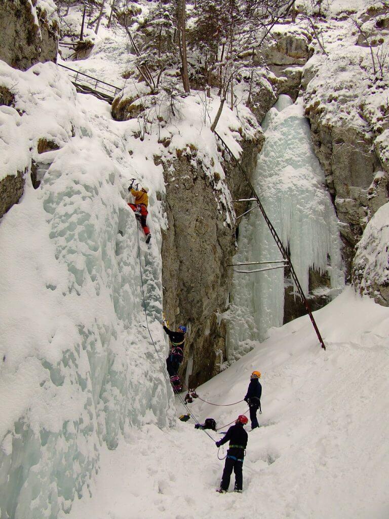 ľadolezenie slovenský raj
