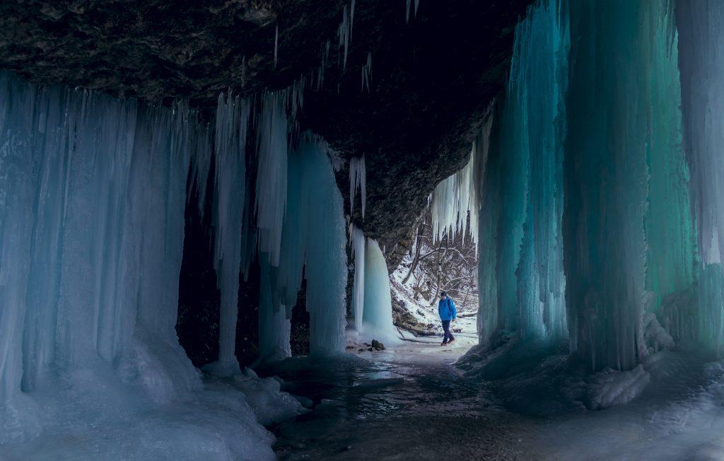 šikľavá skala zima
